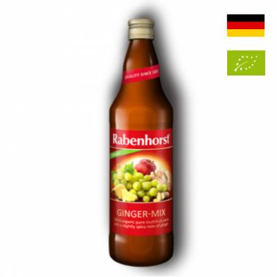 Nước ép hỗn hợp Ginger Mix hữu cơ Rabenhorst 750ml