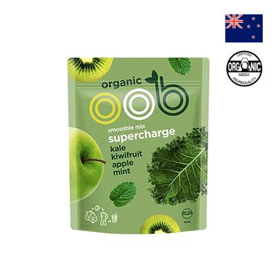 Hỗn hợp táo, kiwi và cải xoăn hữu cơ OOB 450g