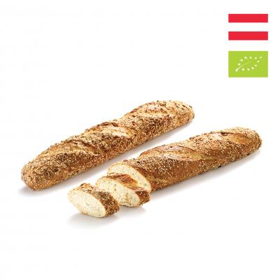 Bánh mì Que Hạt bí ngô Hữu cơ Haubis (1 cái)