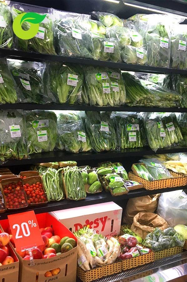 Đầu tuần giảm giá rau xanh hữu cơ 20% ✅
