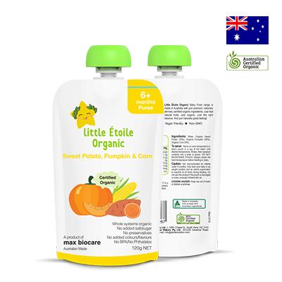 Thực phẩm dinh dưỡng rau củ Little Étoile Organic 120g