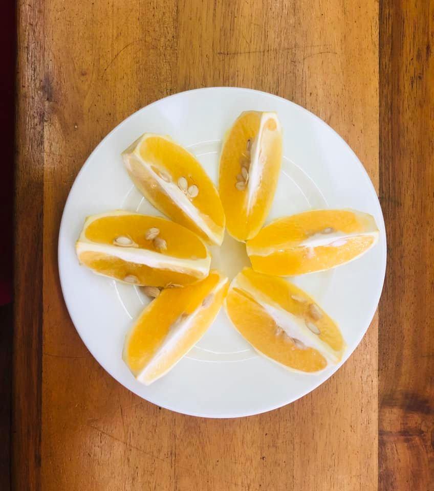 Những trái cam nhiều hạt giữ được hương vị thơm ngon tự nhiên nhất của loài cam bản địa