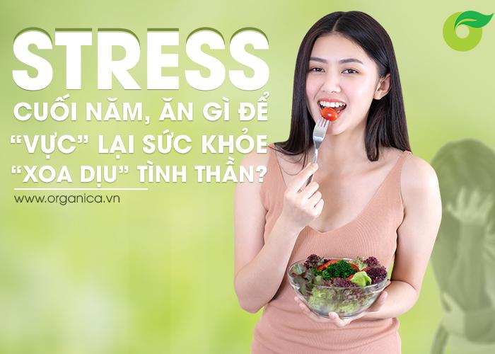 """Stress cuối năm, ăn gì để """"vực"""" lại sức khỏe, """"xoa dịu"""" tinh thần?"""