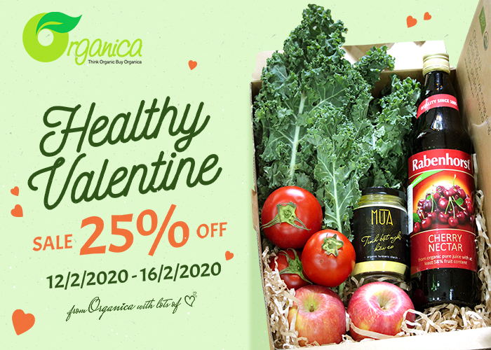 HEALTHY VALENTINE - SALE OFF 25%