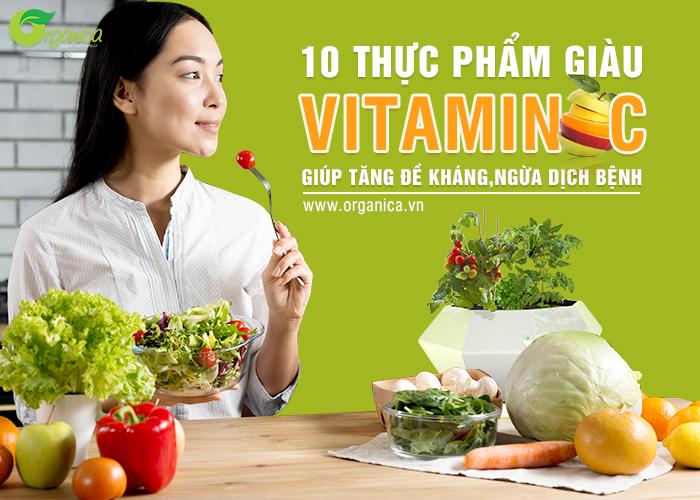 10 thực phẩm giàu vitamin C giúp tăng đề kháng, ngừa dịch bệnh