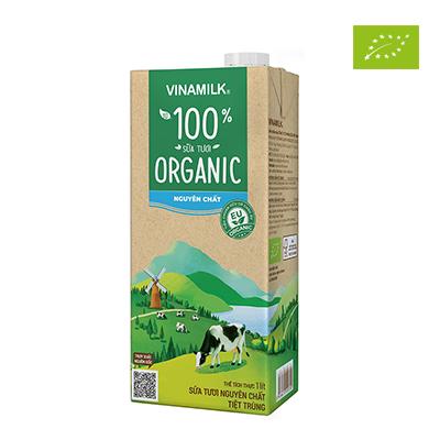 Sữa tươi hữu cơ Vinamilk 1L