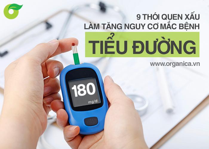 9 thói quen xấu làm tăng nguy cơ mắc bệnh tiểu đường
