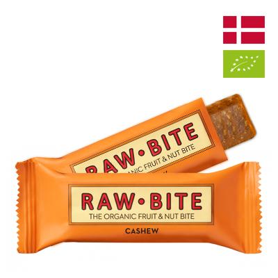 Thanh dinh dưỡng Hạt điều Hữu cơ Rawbite 50g