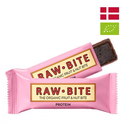 Thanh dinh dưỡng Protein Hữu cơ Rawbite 50g