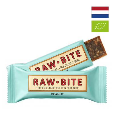 Thanh dinh dưỡng Đậu phộng Hữu cơ Rawbite 50g