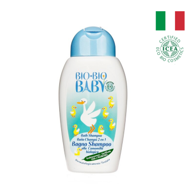Sữa tắm gội toàn thân BIO-BIO BABY 250ml