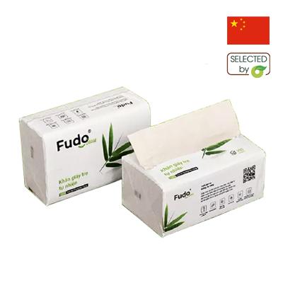 Khăn giấy rút sợi tre Fudo 130 tờ