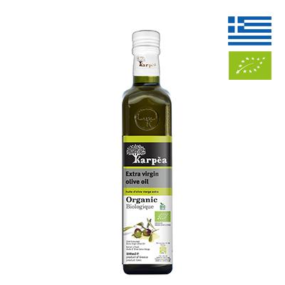 Dầu olive hữu cơ extra virgin Karpea 500ml