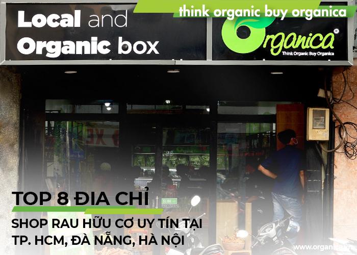 Top 8 địa chỉ shop rau hữu cơ uy tín tại TP.HCM, Đà Nẵng, Hà Nội