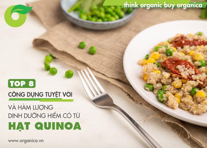 Hạt quinoa là gì? Tại sao ăn hạt qiunoa thay cơm để giảm cân?