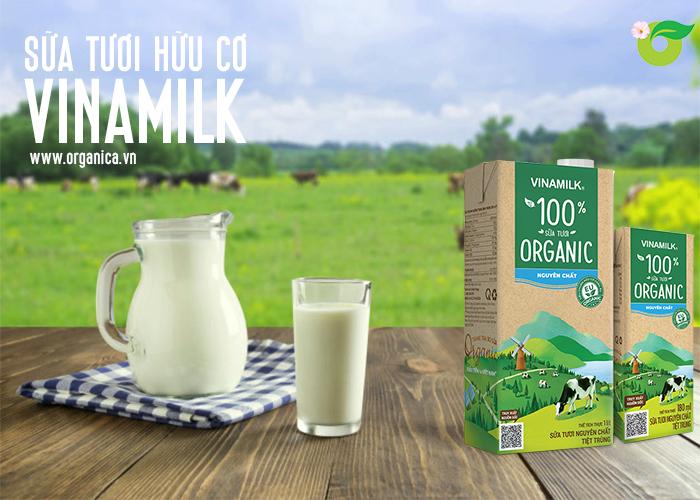 Sữa tươi hữu cơ Vinamilk