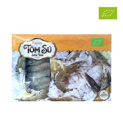Tôm sú nguyên con size 31/35 hữu cơ Mangrove 500g