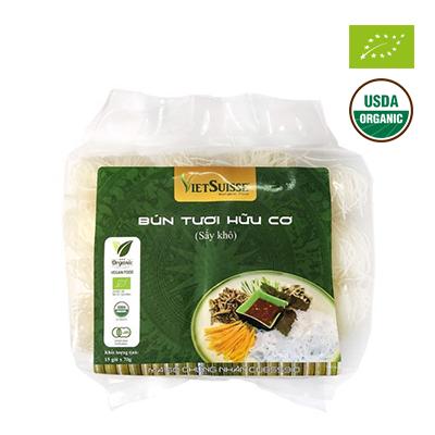 Bún gạo hữu cơ sấy khô (15 gói x 70g)