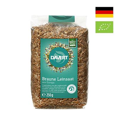 Hạt lanh nâu hữu cơ Davert 250g