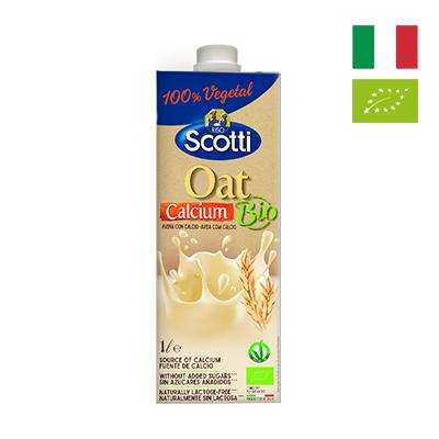 Sữa yến mạch hữu cơ Canxi Riso Scotti 1L