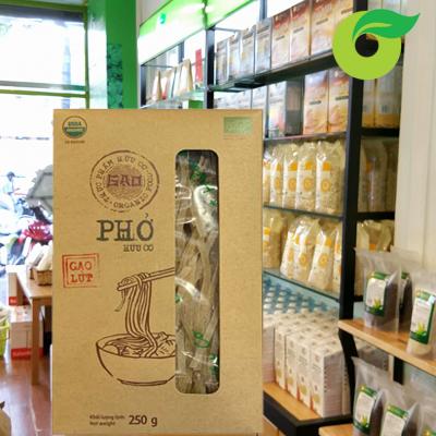 Phở gạo lứt hữu cơ GẠO 250g