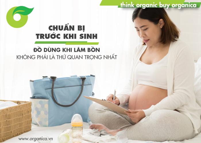 Mẹ bầu cần cuẩn bị những gì trước khi kinh để an toàn, mẹ tròn - con vuông
