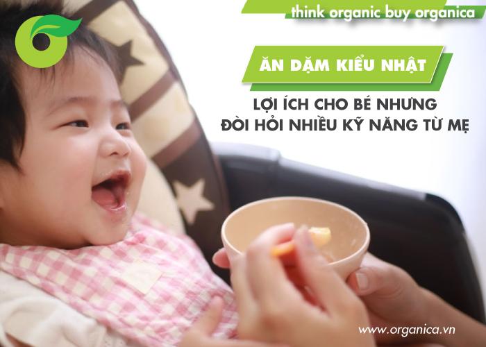 Ăn dặm kiểu Nhật: Lợi ích cho bé nhưng đòi hỏi nhiều kỹ năng từ mẹ