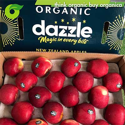 Táo Dazzle hữu cơ