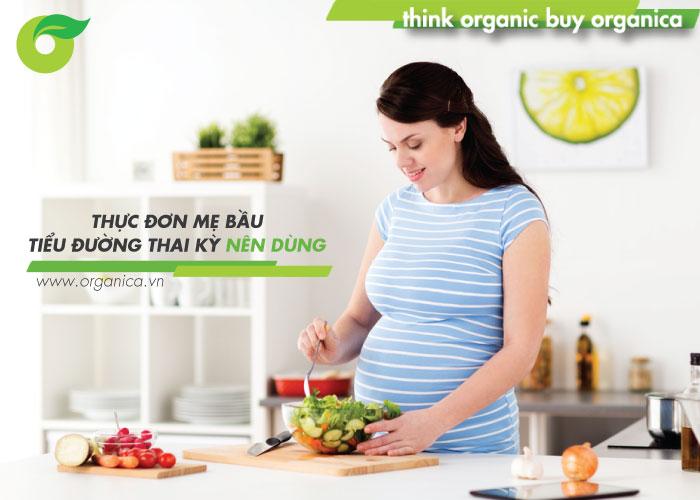 Thực đơn mẹ bầu tiểu đường thai kỳ nên dùng để con khoẻ, mẹ an tâm