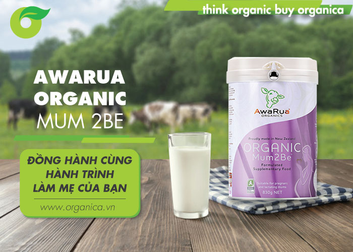 Awarua Organic Mum 2Be - Đồng hành cùng hành trình làm mẹ của bạn
