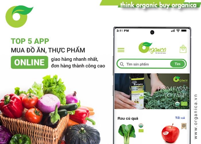 Top 5 app mua đồ ăn, thực phẩm online giao hàng nhanh nhất trong mùa dịch
